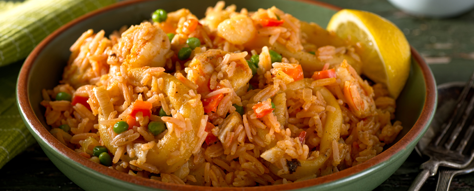 Spiced Shrimp & Rice