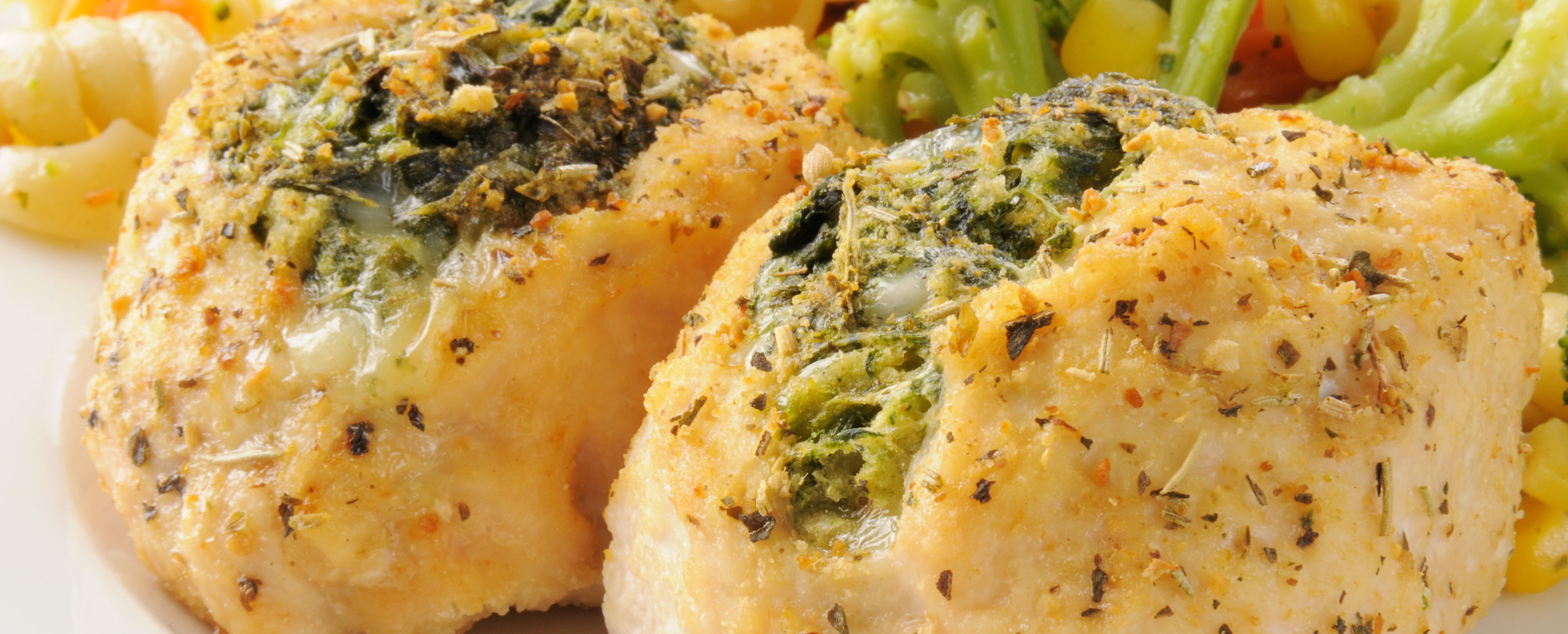 Broccoli & Cheddar Stuffed Chicken