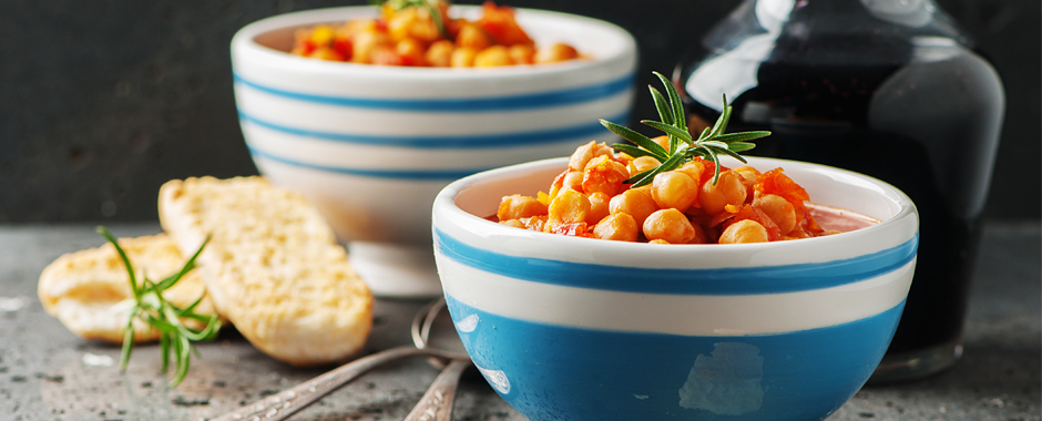 Indian Style Chickpeas