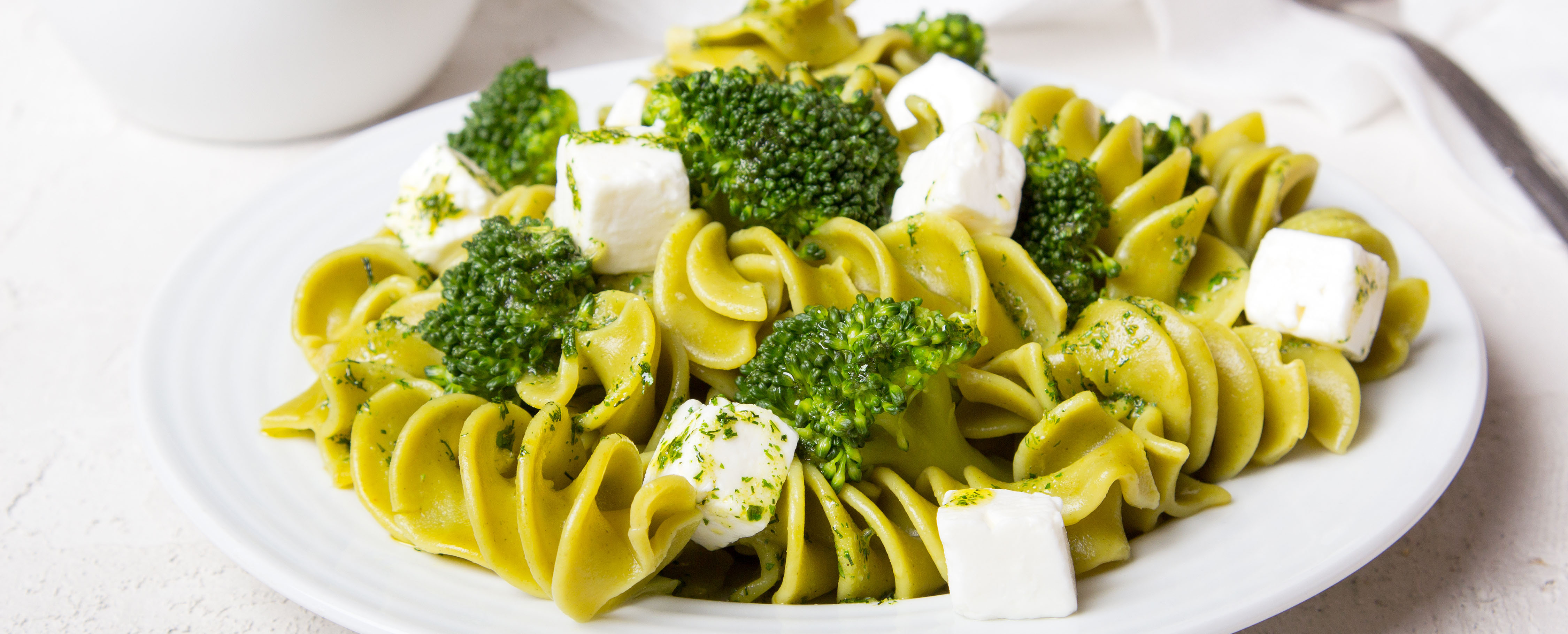 Broccoli & Feta Pasta Salad