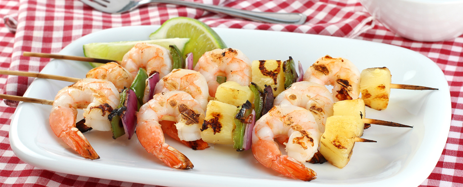 Tangy Shrimp Skewers